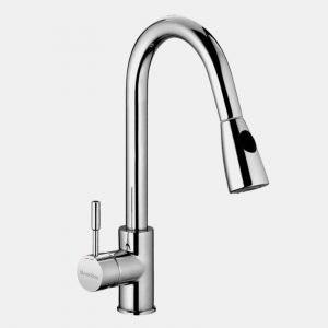 Single Lever pull out kitchen mixer